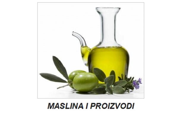 maslina i proizvodi