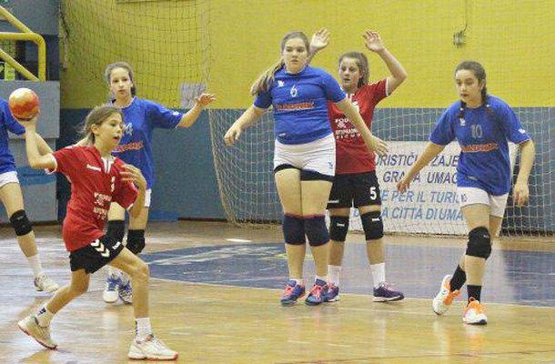 Mlađe djevojčice ŽRK Sinj osme na Državnom prvenstvu