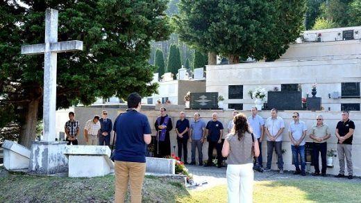 Središnji križ groblje sv Frane Sinj