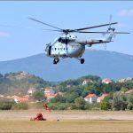 Vježba spašavanja iz zraka Hrvatske gorske službe spašavanja je uvik bila atraktivna