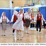 U okviru proslave Dana Općine Hrvace održana je i večer folklora u Hrvacama x