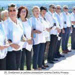 Svečanost je počela procesijom prema Centru Hrvaca x