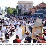 U okviru proslave mons Juraj Batelja postulator Stepinčeve kauze blagoslovio je kip blaženog Alojzija Stepinca x