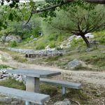 Planinarski put vodi dalje padinom do vrha Kurljaj m