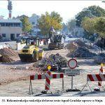 Rekonstrukcija raskrižja državne ceste ispod Gradske uprave u Sinju x