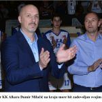 Trener KK Alkara Damir Milačić na kraju more bit zadovoljan svojim Alkarom x