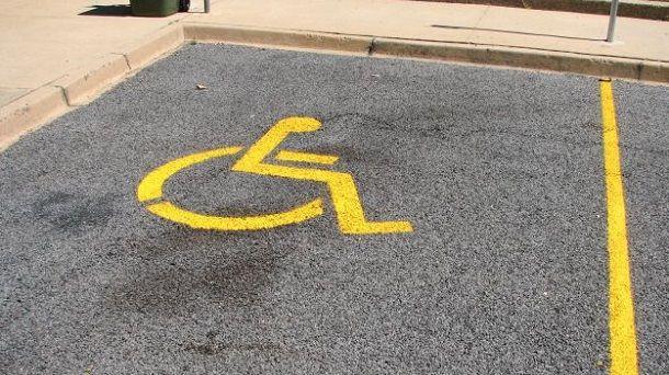invalidi parking