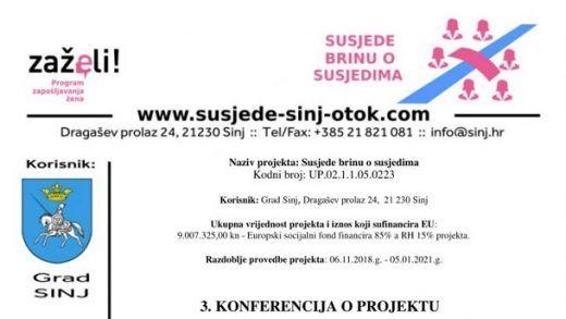 plakat konferencija o projektu