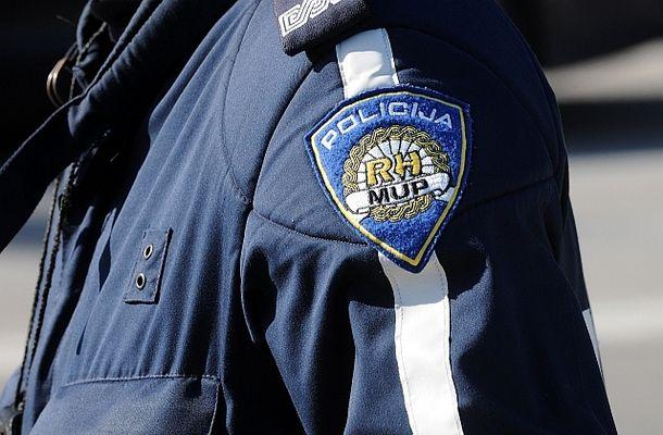zadar, 14.10.2009. - policija - kontrola vozaca na motociklu -