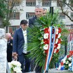 Vijenac je položio i državni tajnik u Ministarstvu branitelja brigadir u miru Ivan Vukić Niper