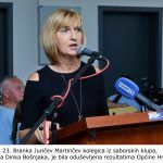 Branka Juričev Martinčev kolegica iz saborskih klupa našega Dinka Bošnjaka je bila oduševljena rezultatima Općine Hrvace x