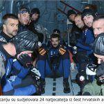 Na natjecanju su sudjelovala natjecatelja iz šest hrvatskih aeroklubova x