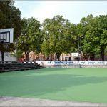Obnovljeno košarkaško igralište kod kina