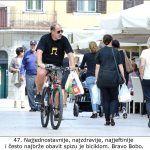 Najjednostavnije najzdravije najjeftinije i često najbrže obavit spizu je biciklom Bravo Bobo x