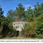 Bunkeri nagrizeni vremenom svjedoče talijanskoj okupaciji x
