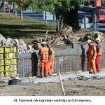 Ugovorni rok izgradnje raskrižja je četri mjeseca x