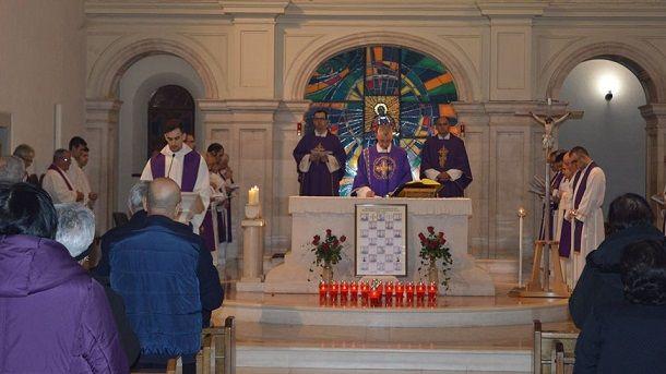 misa za ubijene fratre