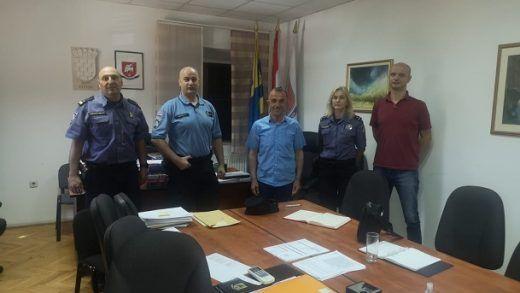 radni sastanak policija opcinaotok