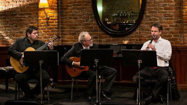 trio Ex Ponte nastup photo
