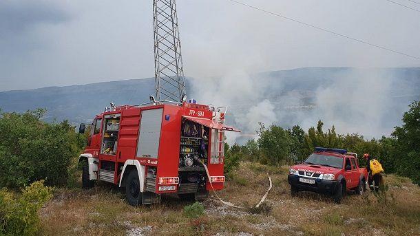 vatrogasci pož