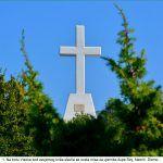 Na brdu Visoka kod zavjetnog križa slavila se sveta misa za vjernike župe Sinj Neorić Dicmo x