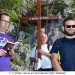 postaja Isus po prvi puta pada pod križem Očajanje x