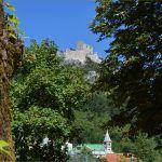 Pogled na utvrdu Prozor koju je sagradio bosansko hrvatski herceg Hrvoje Vukčić Hrvatinić