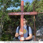 postaja Šimun Cirenac pomaže Isusu nositi križ Silom nametnuti križ x