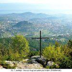 postaja Isus po drugi put pada pod križem Potištenosti x