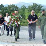 godišnjica pogibije policijskih službenika i redarstvenika u Maljkovu Općina Hrvace x