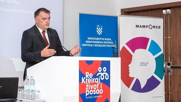 Zamjenik župana Ante Šošić