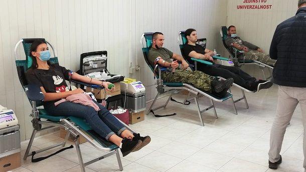 darivanje krvi sinj