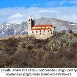 U povijesti Hrvata Dinara ima važnu i sudbonosnu ulogu pod njenim okriljem stvorena je jezgra Naše Domovine Hrvatske x
