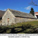 Iz ovog dijela Dinare s utvrde Glavaš mogao se nadzirat put prema Bosni odakle je neprijatelj upadao u Cetinski kraj x