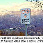 Planina Dinara prirodna je granica između Hrvatske i BIH te dijeli dva velika polja Sinjsko i Livanjsko x
