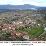 Na području grada Vrlike kvadratnih km pokriva Park prirode daleko najviše od svih ostalih jedinica lokalne samouprave x