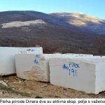 Na području Parka prirode Dinara dva su aktivna eksp polja s važećom koncesijom x