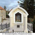 Obnovljena kapelica u Brnazama kod Čarića x