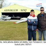 Evo potvrde neće jabuka daleko od stabla Ivan Tomasović i njegov sin Roko budući pilot x