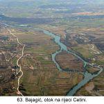 Bajagić otok na rijeci Cetini x