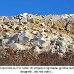 Površinskim kopovima nužno dolazi do izmjene krajobraza gubitka staništa vidljivo na fotografiji što nije dobro x