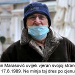 Antun Marasović uvijek vjeran svojoj stranci još od vrimena Ne minja taj dres po cjenu života x