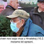 Otkriven novi soja virus u Hrvatskoj moramo bit oprezni x