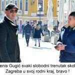 Denis Gugić svaki slobodni trenutak skokne iz Zagreba u svoj rodni kraj bravo x