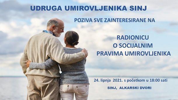 Plakat za radionicu