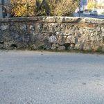 kolobranski uzvodni zid na velikom mostu
