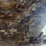svod i lijeva nizvodna peta velikog mosta na gorucici