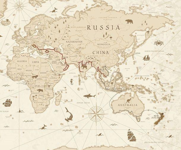 Ruta putovanja