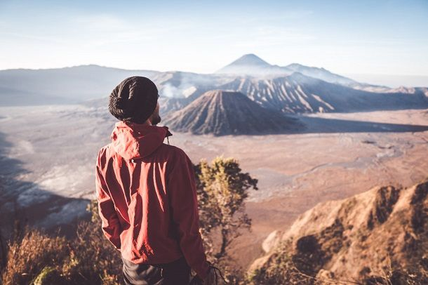 Vulkan Bromo otok Java Indonezija
